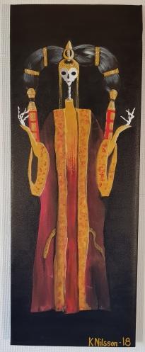 Skelett - Queen Amidala (starwars), 30x80cm, SÅLD
