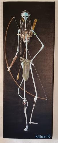 Skelett Avatar 30x80cm Pris: 1000kr