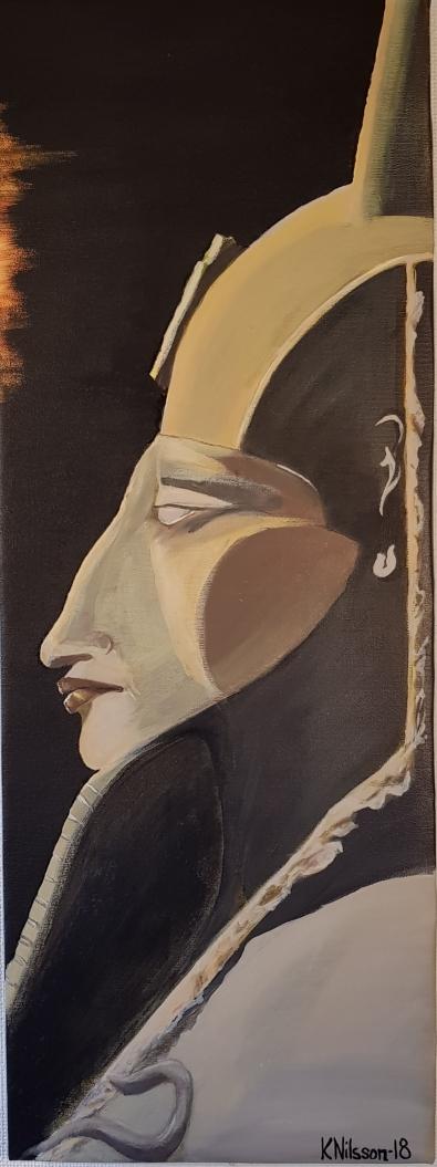 Akhenaten 30x80cm Pris: 1000kr